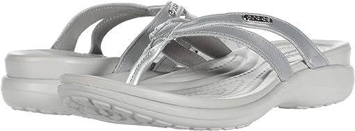 Silver/Pearl White