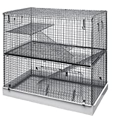 Lazy Bones Double Storey Wire Rodent Cage Review