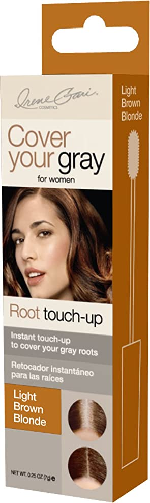 拡張ロッジジュースCover Your Gray Root Touch-Up Stick (mini box) Light Brown/Blonde (並行輸入品)