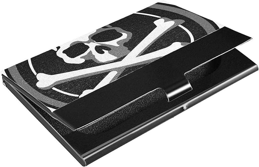 Max 59% OFF Light Stainless Steel Skull Business Premium P Card Max 62% OFF Holder Slim