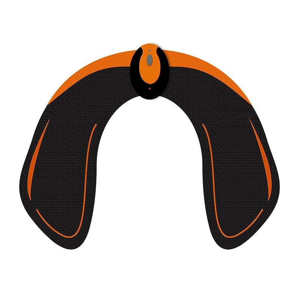 ジュニア改革弾力性のあるHealifty EMS トレーニングパッド ヒップアップ お尻専用 多機能 筋トレ器具 ダイエット 筋肉振動 引き締める 強さ階段調節 男女兼用 ワイヤレスリモコン付(黒)