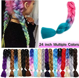 Best turquoise braiding hair Reviews