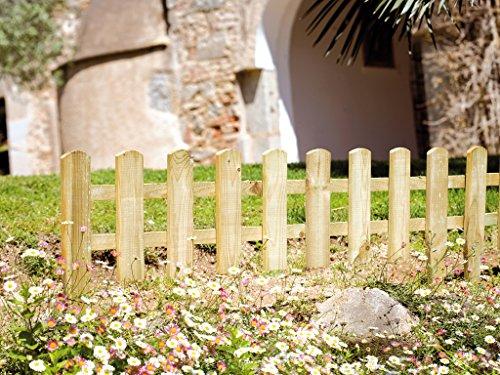 SEIFIL - Mini Valla De Madera Seifil 25X114 Cm