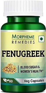 Morpheme Remedies Fenugreek 500 mg - 60 Veg Capsules