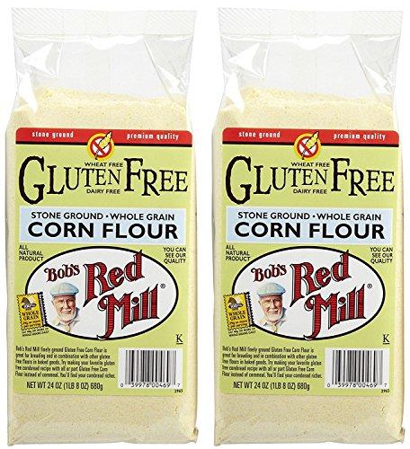 Bob's Red Mill Gluten Free Corn Flour - 24 oz - 2 pk