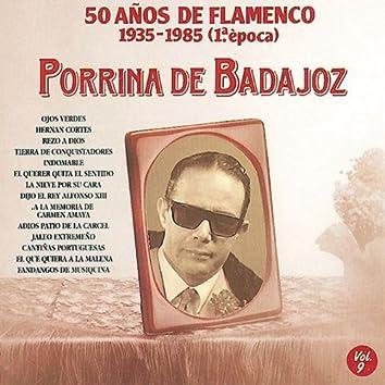 50 Años de Flamenco, Vol. 9 : 1935-1985 (1a Epoca)