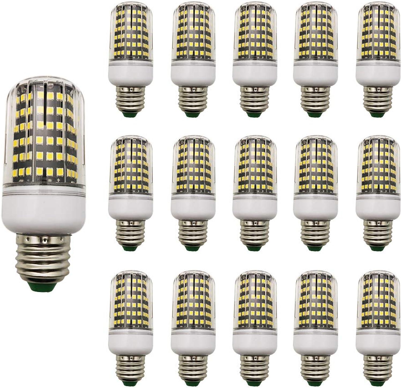 15 Stück LED Mais-Licht 12W E27 Warmwei 3000K AC220V 950LM für Garten Werkstatt Küche Esszimmer Ankleidezimmer Straenbeleuchtung Wohnzimmerlampe