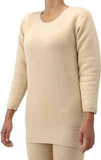 もちはだ 陽の国 長袖 インナー 女性用 中厚地 起毛 M~Lサイズ