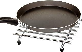 simplywire - Trivet - Resistente al calor - Protector de encimera de cocina - Cuadrado - Cromo