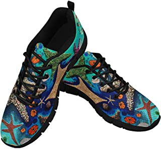 Women Running Shoes Custom Starfish Lightweight Fashion Walking Breathable Sneakers