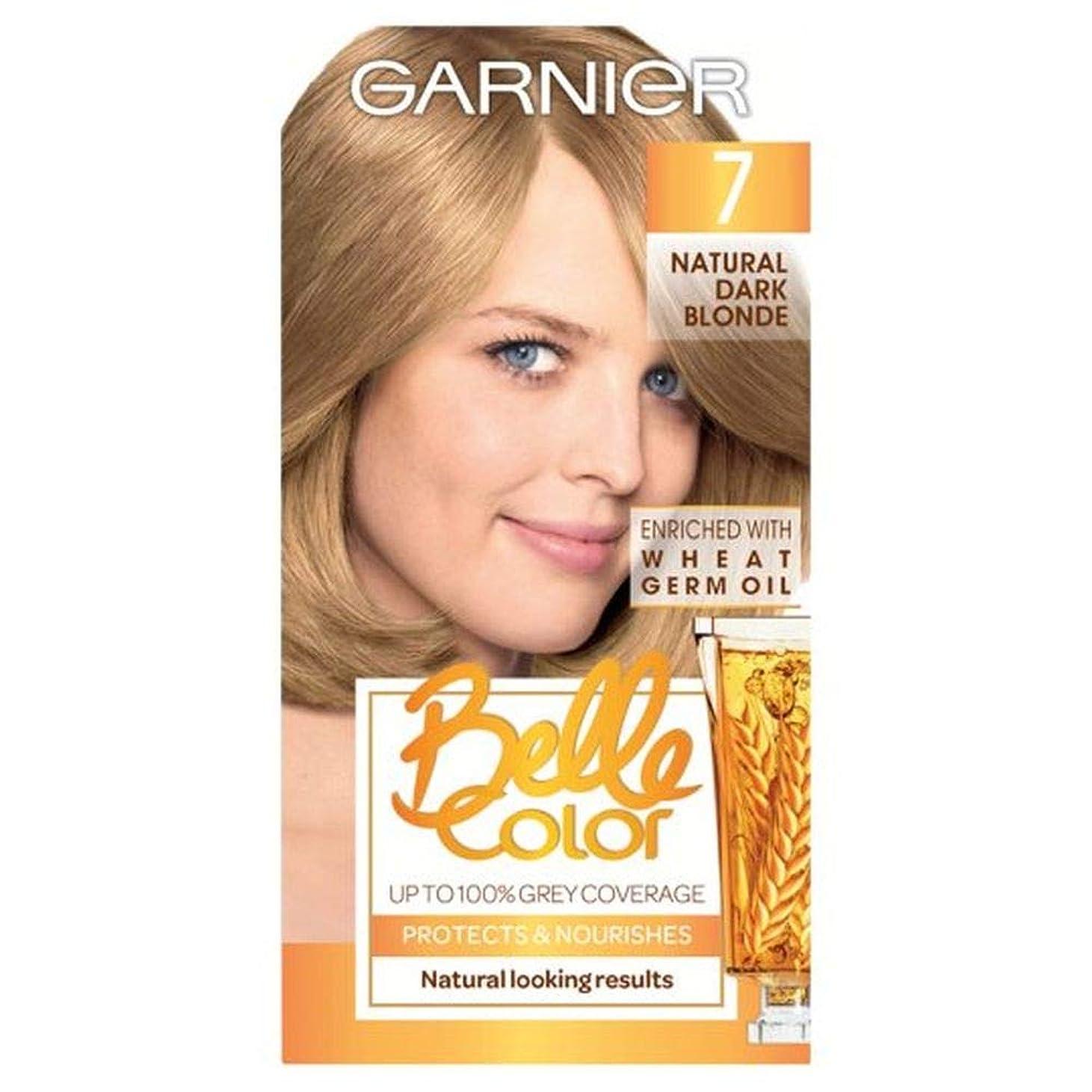 ボーカル対小麦粉[Belle Color ] ガーン/ベル/Clr 7ナチュラルダークブロンドパーマネントヘアダイ - Garn/Bel/Clr 7 Natural Dark Blonde Permanent Hair Dye [並行輸入品]