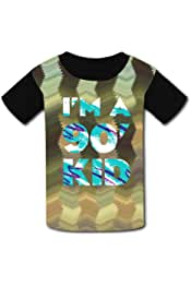 Im A 90s Kid Paper Cup Casual T-Shirt Short Sleeve for Kids