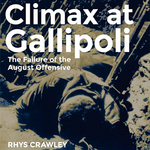 Climax at Gallipoli audiobook cover art