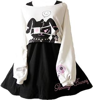 Himifashion Print - Kleid Kawaii Kaninchen 2 stücke für m�