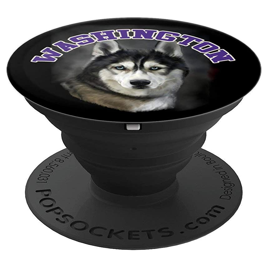 Washington Husky - PopSockets Grip and Stand for Phones and Tablets