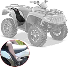 ATV Rear Passenger Footrests for Sportsman 570 Foot Rest Passenger Adjustable Universal fit Polaris Sportsman Honda Rancher Yamaha Grizzly Made With Heavy Duty 600D Oxford Cloth Foldable ATV Foot Pegs