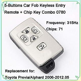 Dorman 99360 Keyless Entry Remote 3 Button for Select Chrysler//Dodge//RAM Models