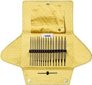 AddiClick Series Lot de 8 paires d'aiguilles à tricoter circulaires interchangeables (AddiClick Mix 670-7)