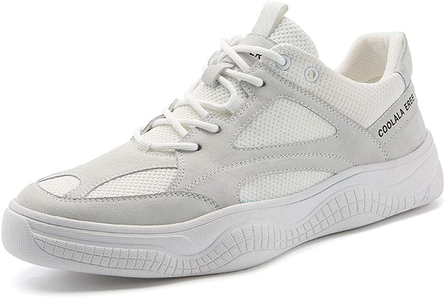 Sneakers Outdoor Hiking Running shoes Lightweight Non-Slip sneakers-White-41
