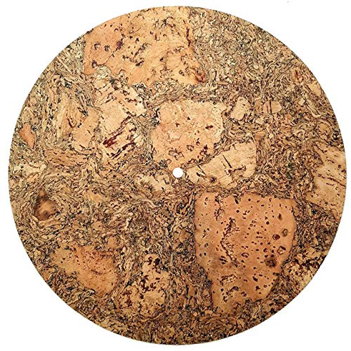 Cork and Rubber Turntable Slipmat - Decorative Specially designed Cork. best quality