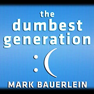The Dumbest Generation audiobook cover art