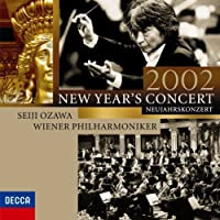 NEW YEARS CONCERT 2002(2CD) by OZAWA/WIENER PHILHARMONIKER (2009-05-20)