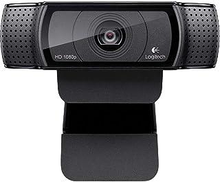 Logitech C920 Widescreen HD Pro Webcam - Black