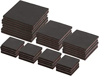 Prime-Line MP76750 Heavy-Duty Non-Slip Furniture Pad Assortment, 1/4 in. Thick, Includes 2 in, 3 in. and 4 in. Squares, Se...