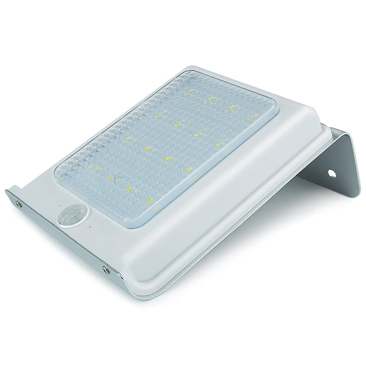 服を片付ける言うまでもなく一致Uniquefire ソーラー充電式LEDライト 16個LED電球 センサー搭載 アウトドアライト