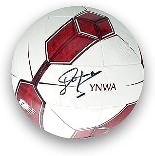John Barnes Signed Liverpool Football | Autographed Memorabilia