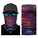 Colorful Multifunktionstuch Schlauchschal Bandana Halstuch Kopftuch, Face Shield aus Mikrofaser, Material ist flexibel und atmungsaktiv,Maske für Motorrad Fahrrad Ski Angeln, Für Männer und Frauen