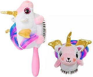 Wet Brush Plush Kid's Detangler(Pegasus Unicorn) with Soft IntelliFlex Bristles for All Hair Types