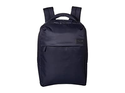 Lipault Paris Plume Business Laptop Backpack M (Navy) Backpack Bags