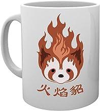 Leyenda de Korra Fuego Los hurones Pro flexión Emblema Taza Mug Cup