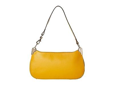 Vince Camuto Irine Shoulder (Golden Mustard) Handbags