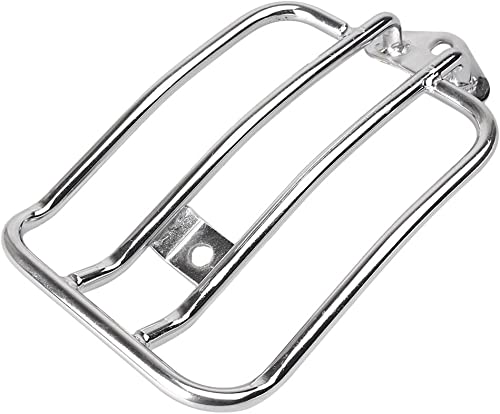 new arrival Mallofusa Motorcycle Rear Trunk Luggage Rack Mount Compatible for sale Sportster 2021 XL 883 2004 2005 2006 Chrome sale