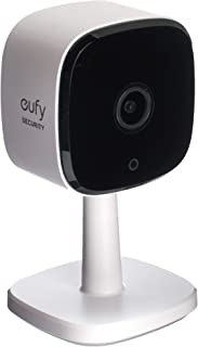eufy Security Indoor Cam 2K 2K Indoor Cam, Home Security Camera for Indoor Surveillance, Human and Pet AI, Works with Voic...