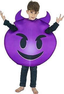 SEA HARE Disfraz de Demonio Emoticon para nino Unisex (