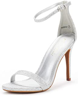 Best silver embellished strappy heels Reviews