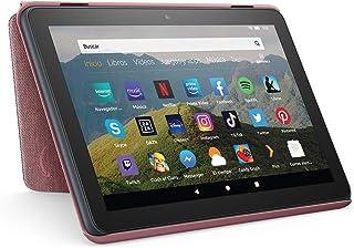 Amazon Funda para tablet Fire HD 8 (compatible con el tablet de 10.ª generación, modelo de 2020), malva