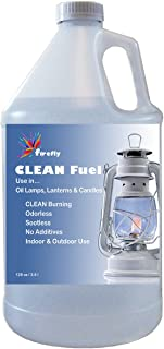 Firefly Clean Fuel Lamp Oil – Smokeless/Virtually Odorless – Longer Burning – 1 Gallon
