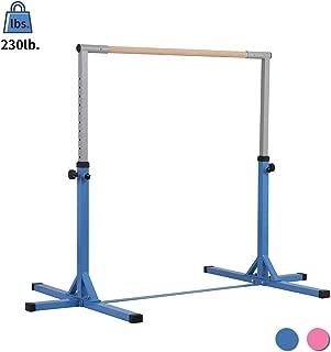 ZENOVA Gymnastics Kip Bars Junior Gym Training Bar for Kids Home Adjustable Horizontal Bar