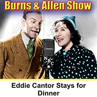 Eddie Cantor Stays for Dinner audiobook cover art