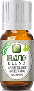 Relaxation Essential Oil Blend - 100% Pure Therapeutic Grade Relaxation Blend Oil - 10ml