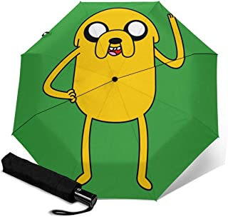 Adventure Time Adventure Time 2 折叠伞 一键自动开合【最新版&双层结构】抗强风 超防水 210t高强度玻璃纤维 防紫外线 隔热 结实 带伞盖