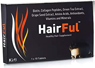 HairFul Hair Multivitamins Healthy Hair Supplement for Better Hair Growth & Hair fall Control (Pack Of 6) 60 Tablets