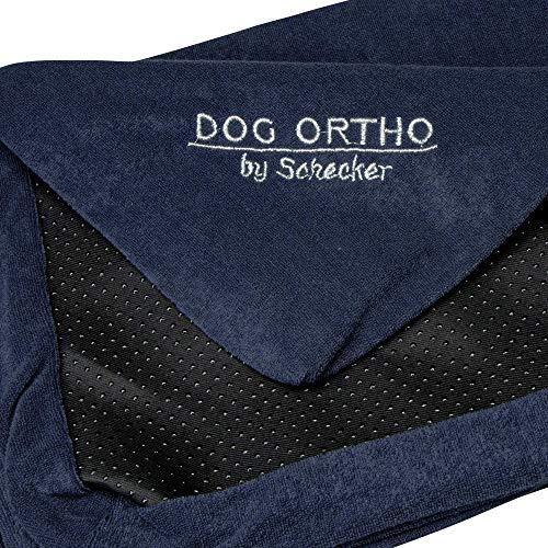 Schecker Dog Ortho 100 x 60 cm Ersatzbezug für orthopaedisches Hundebett Hundekissen Farbe: Mitternachtsblau