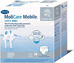 MoliCare Mobile Underwear, Extra, Large, Case/56 (4/14s)