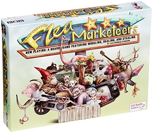 Flea Marketeers Board Game by Gut Bustin' Games