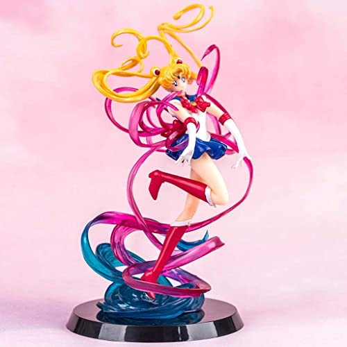 WSWJJXB Modèle d'animation de Main de Lapin Sailor Moon Month Souvenir Collection Artisanat